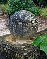 Easton Lodge Gardens, Little Easton, Essex, England ~ ball finial 1.jpg