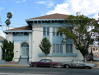 Ebell Society - Image: Ebell Building, Highland Park