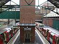 Edgware station high northbound.JPG