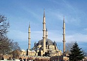 Selimiye Mosque, built by Sinan in 1575. Edirne, Turkey.
