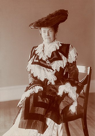 Edith Roosevelt - Image: Edith Kermit Carow Roosevelt by Frances Benjamin Johnston