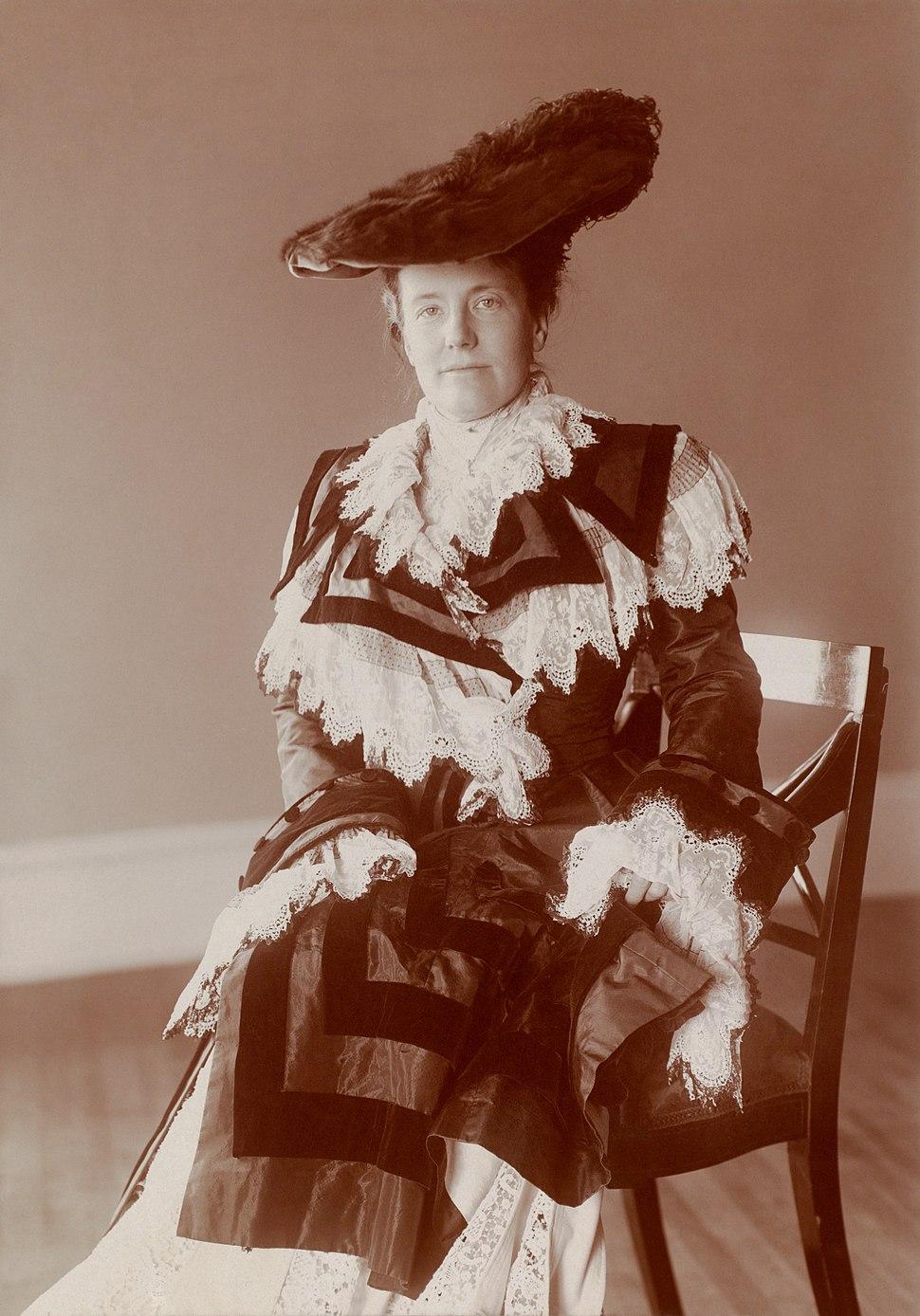 Edith Kermit Carow Roosevelt by Frances Benjamin Johnston