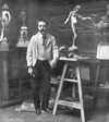 Edward Onslow Ford in his Studio - photo accompanying Ford's obituary in The Sketch, Jan 1, 1902.png