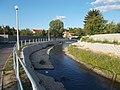 Eger Stream in Downtown of Eger, 2016 Hungary.jpg
