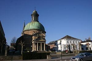 Church of Saint Joseph, Waterloo - The church and the former presbytery