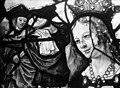 Eglise Saint-Martin - Vitrail, baie 10 (détail), Tête de la sainte patronne de François de Montmorency, fils de Guillaume et d'Anne Pot - Montmorency - Médiathèque de l'architecture et du patrimoine - APMH00005435.jpg