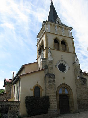 Brussieu - The church in Brussieu