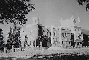 El Castillo Hotel - Monte Olivo Hotel, 1930.