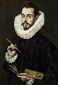 El Greco - Portrait of the Artist's Son Jorge Manuel Theotokopoulos - WGA10567.jpg