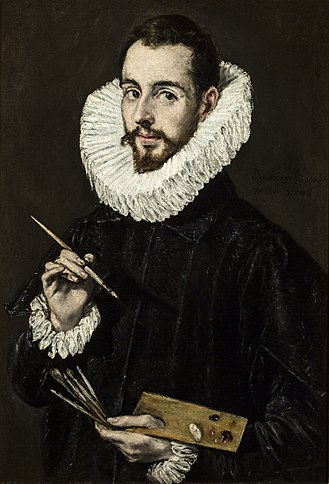 Jorge Manuel Theotocópuli - Jorge Manuel Theotocópuli; portrait by his father (c.1600)