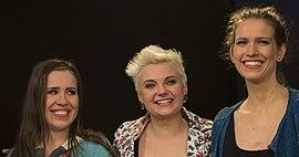 Elaiza (Yvonne Grünwald, Ela Steinmetz, Natalie Plöger from left to right) (2014)