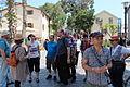 Elef Milim Project - Wikipedians in Sarona IMG 0925.JPG