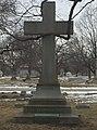 Eliza Emily Chappell Porter's grave at Rosehill Cemetery, Chicago 1.jpg