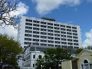 English: Elizabeth Rothwell Building, Waikato ...
