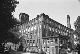 Chadderton - Built in 1926, Elk mill (on the Royton-Chadderton boundary) was one of the UK's largest and most modern cotton mills. It closed in 1998 and was demolished in 1999.