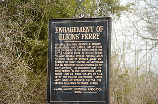 Elkins Ferry Battlefield battlefield in Clark and Nevada counties, Arkansas, USA