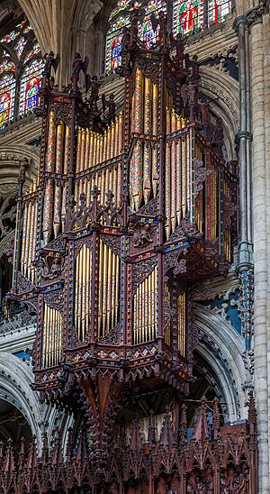 Organ pipes Ely Cathedral Organ, Cambridgeshire, UK - Diliff.jpg