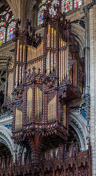 پرونده:Ely Cathedral Organ, Cambridgeshire, UK - Diliff.jpg