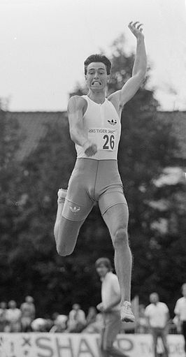 Emiel Mellaard in 1987