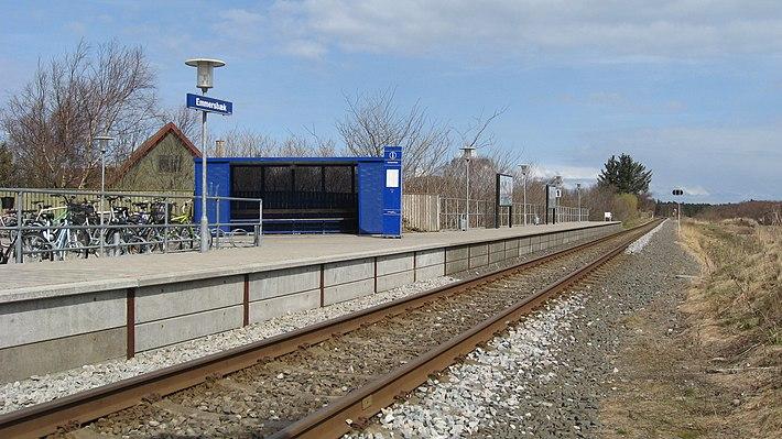 Emmersbæk railway halt