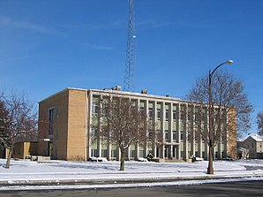 Das Emmet County Courthouse in Estherville