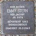 Emmy Stern - Sierichstraße 152 (Hamburg-Winterhude).Stolperstein.crop.ajb.jpg