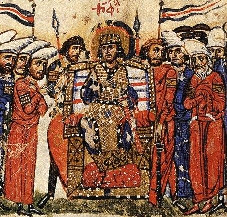 Emperor Theophilos Chronicle of John Skylitzes