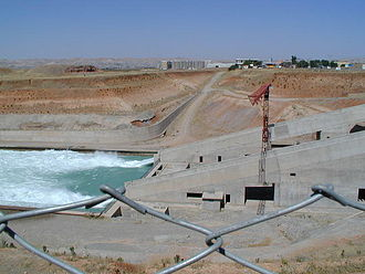 Southeastern Anatolia Project - Energy dissipator