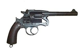 Enfield revolver Type of Service revolver