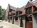 Enschede, voormalig klooster Dolphia, kloosterkerk achter Bernadettekerk (2).jpg