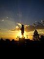 Entardecer no Monumento Jayme Caetano Braun.jpg