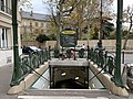 Entrée Station Métro Chardon Lagache Paris 7.jpg