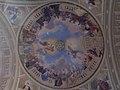 Entrance ceiling fresco, Basilica in Eger, 2016 Hungary.jpg