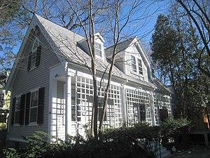 Ephraim Atwood House - Image: Ephraim Atwood House 110 Hancock Street, Cambridge, MA IMG 4101