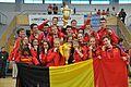 Equipe Belge championnat d'Europe Kin-ball 2014.jpg