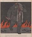 """Erich Schilling – Der Mörder """"Ich will doch nur den Frieden nach Europa bringen!"""" (The Killer, Red Army soldier kills Peace) 1943 Satirical cartoon No known copyright (low-res).jpg"""