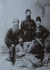 Ermakov. Georgians with national clothes.jpg