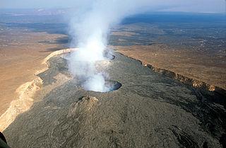 volcano in Ethiopia