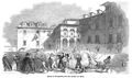 Escape of the prisoners from the Limoeiro, at Lisbon - The Illustrated London News (22May1847).png