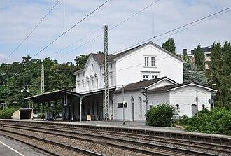 Eschweiler Hauptbahnhof - Station building