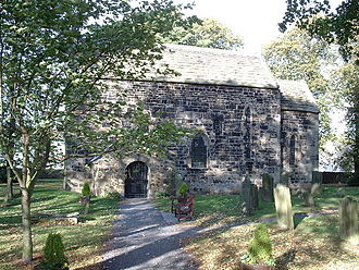 Óengus I - Escomb Church, County Durham. The stone churches built for Nechtan, and perhaps Óengus's church at St Andrews, are presumed to have been similar.