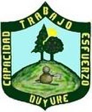 Duyure - Image: Escudo Duyure