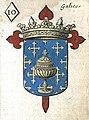 Escudo da Galiza no Jeu d'armoiries des souverains et états d'Europe (1659).jpg