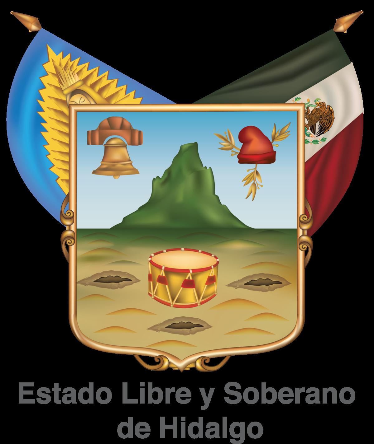 Escudo del estado de Hidalgo - Wikipedia, la enciclopedia libre