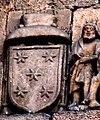 Escudo de Armas del Obispo Fonseca-Coutiño en la Catedral de Ourense 1470 - panoramio.jpg