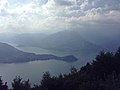 Esino Lario - view of Lake Como from San Pietro in Ortanella 02.jpg