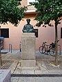 Estatua a Damià Forment. Calle Damià Forment, ValènciaAA.jpg