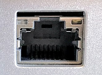 Ethernet - An Ethernet over twisted pair port