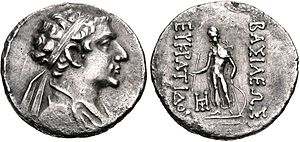 Eucratides II - Eucratides II as a young man.