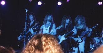Europe (band) - Europe in Hamburg 1992